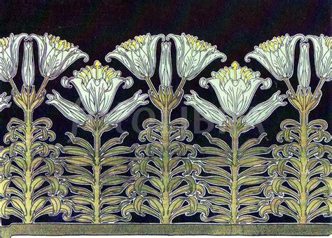 Historic Art Nouveau Wallpaper