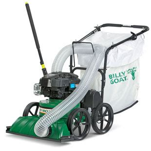billy goat vaccum leaf litter vacuums billy goat
