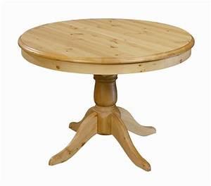 Table A Rallonge Pour 16 Personnes : table ronde en pin 110 cm avec rallonge 40 cm grenier alpin ~ Teatrodelosmanantiales.com Idées de Décoration