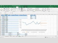 Forecast Sheets in Excel 2016 – Tutorial TeachUcomp, Inc
