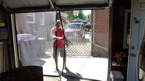 9x7 Garage Door by Tim 9x7 Garage Door Screen