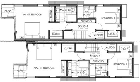 small modern floor plans commerce villas small lot subdivision los angeles small