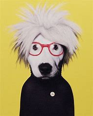 Andy Warhol Pop Art Dog