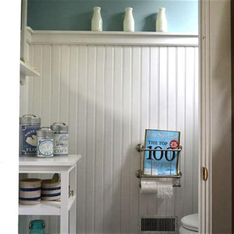 Beadboard Bathroom Height  28 Images Installing