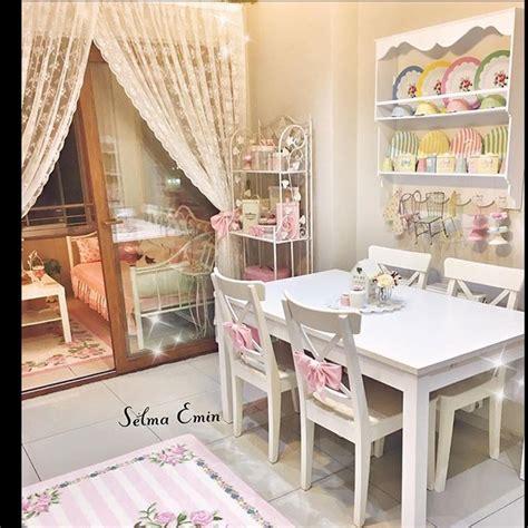 inspirasi dekorasi ruang dapur terbaru ala shabby chic