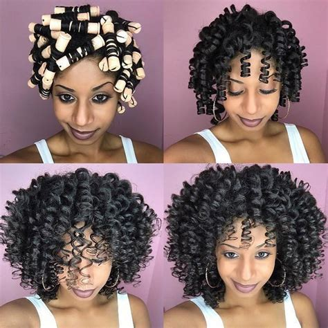 bomb perm rod set hairstyle pictorials