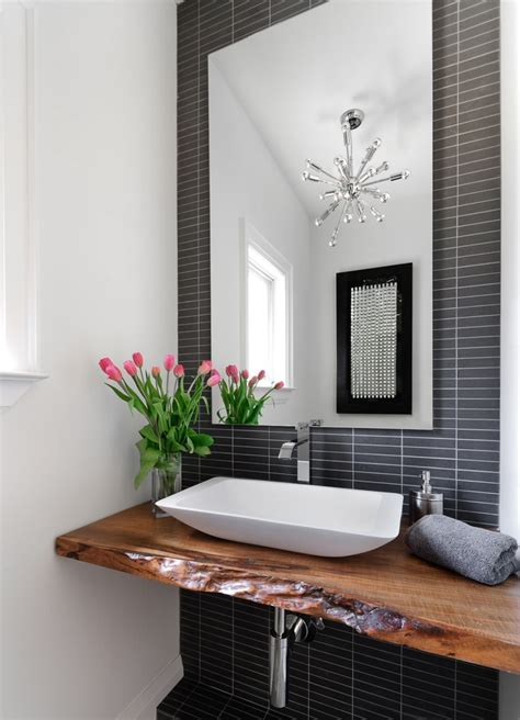 powder room bring living room style to your powder room