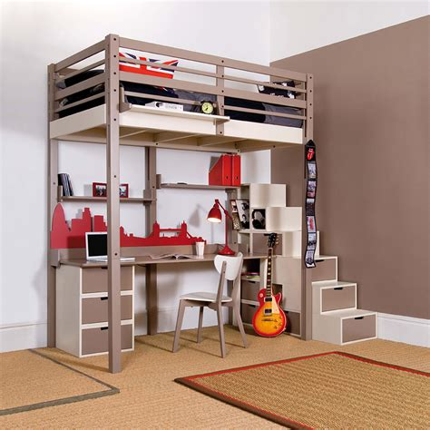 decoration chambre ado style americain idee rangement chambre ado fille