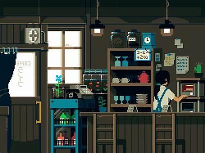 Japanese Gifs Pixel Japan Animation Anime Animated