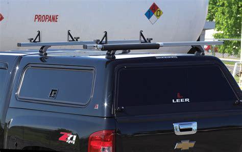leer 100rcc commercial shell rack truck cap accessories dewalt fiberglass living mobilliving mobile
