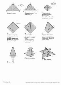 Fleur En Origami Facile : origami facile fleur de lys ~ Farleysfitness.com Idées de Décoration