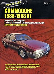 Holden Commodore Vl Workshop Repair Manual 1986