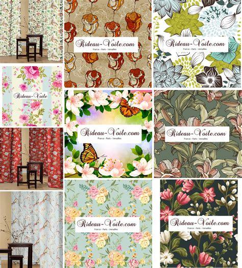 tissus fleuris pour rideaux tissus rideaux imprim 233 s floraux fleurs fleuris