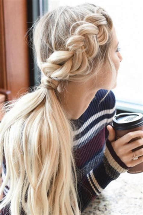 some quick easy hairstyles for long hair best 25 long hair ponytail ideas only on pinterest hair