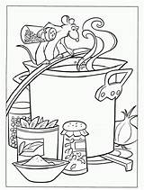 Coloring Ratatouille Soup Stone Pages Coloriage Disney Sheets Imprimer Template Chili Fun Colouring Cooking Printable Adult Coloriages Dessin Books Vegetable sketch template