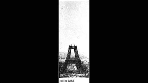 Eiffel Tower Construction Time Lapse. - YouTube