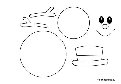 printable snowman template snowman template beepmunk