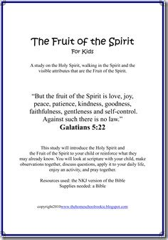 fruit   spirit bible study confessions