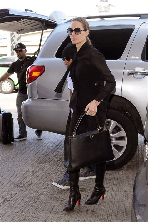celebrity fashion designer handbags angelina jolie louis