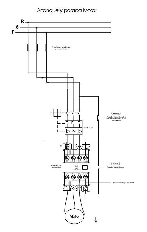 solucionado diagrama de conexi 211 n trifasica de contactor