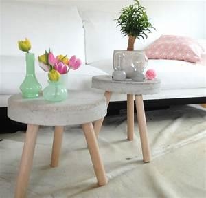 Beton Tisch Diy : diy betontisch roomilicious ~ A.2002-acura-tl-radio.info Haus und Dekorationen