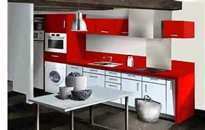 Idée Aménagement Petite Cuisine : idee amenagement cuisine petit espace 4 petite cuisine ~ Dailycaller-alerts.com Idées de Décoration