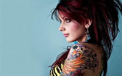 Tattooed Tattoo Woman Wallpapers Wallpapersafari
