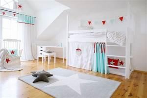 Kinderzimmer Vorhänge Mädchen : wundersch n zeitlos und immer passend f r ein sch nes kinderzimmer sind diese hochbettvorh nge ~ Watch28wear.com Haus und Dekorationen