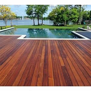 lame de terrasse With parquet bois exterieur