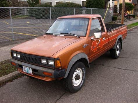 1984 Nissan/datsun 720 Pickup