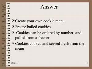 Case Study  Kristen U0026 39 S Cookie Company