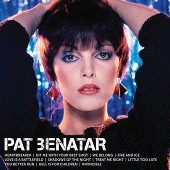 Pat Benatar : Icon CD (2013) - Capitol | OLDIES.com
