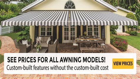 prices   sunsetter awning models
