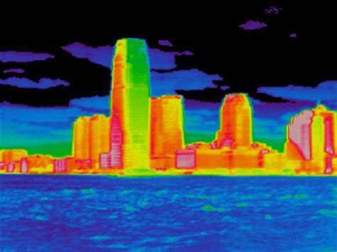 thermal images   york city explain  cities