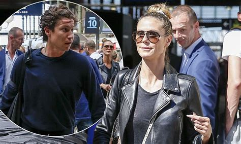 Heidi Klum arrives in Paris with beau Vito Schnabel, 30 ...