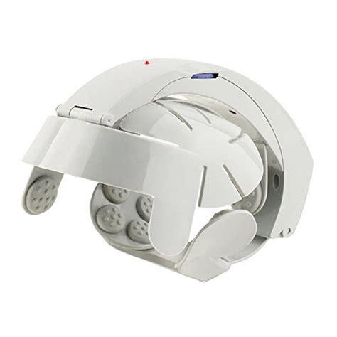 Genmine Electric Head Massager Brain Massage Helmet Scalp