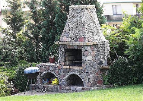 grillkamin selber bauen beispiel gartengestaltung grillecke gemauerter grill