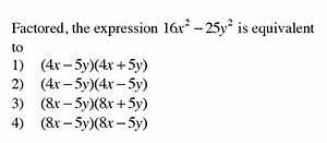 Integrated Algebra - Quadratics Regents Practice