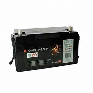 Batterie Agm Camping Car : batterie cellule agm 80 a h leader loisirs ~ Medecine-chirurgie-esthetiques.com Avis de Voitures
