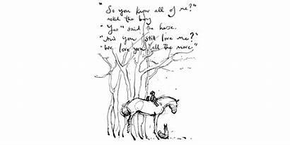 Mackesy Charlie Boy Drawings Horse Fox Mole