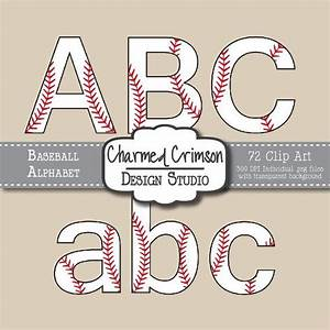 17 best images about fonts and letter clip art on With baseball letter art