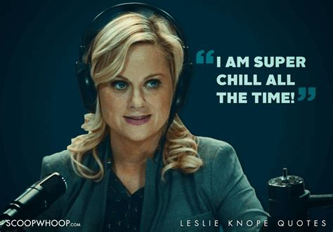 Leslie Knope Quote