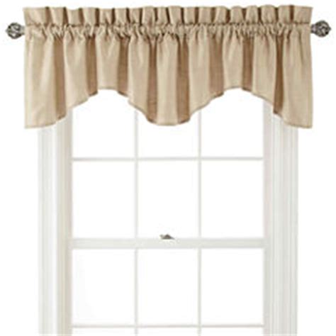 scallop valances curtains drapes for window jcpenney