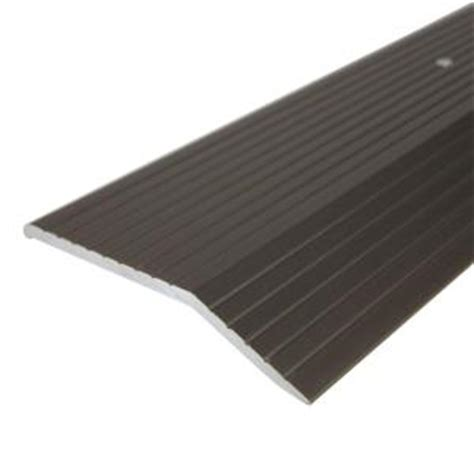 flooring transition strips home hardware trafficmaster nickel 2 in x 36 in carpet satin h6034 hsn