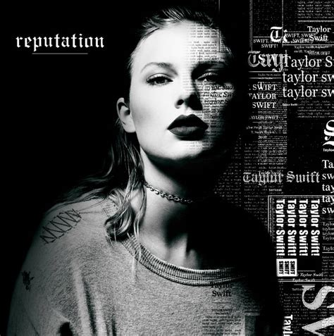ALBUM COVER Taylor Swift Reputation EDIT by