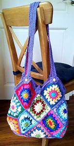 1000  Ideas About Granny Square Bag On Pinterest