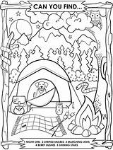 Coloring Camping Crayola Printable Theme Sheets Activities Preschool Scouts America Boy Scout Campfire Thevillageanthology sketch template