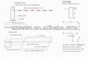 Top Sales Automatic Traffic Barrier Gate Price For Vehicle