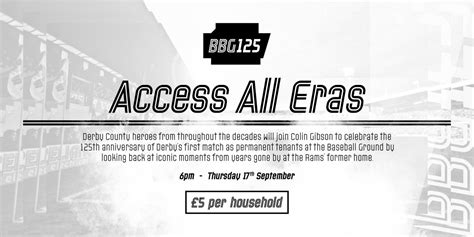 Access All Eras: Join An Exclusive Event To Celebrate ...
