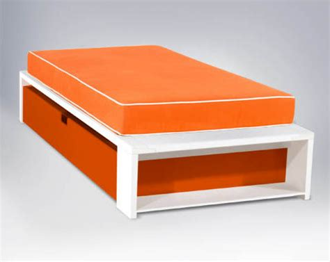 Alex Platform Bed, Twin Size  Modern  Kids Beds  By Ducduc. Bathroom Drawer Storage Ideas. Shelf For Top Of Desk. Diy Drafting Desk. Small Secretary Desk Antique. Help Desk Jobs Chicago. Dining Room Tables For Sale. Hosted Help Desk. How To Build A Desk With Hidden Compartments